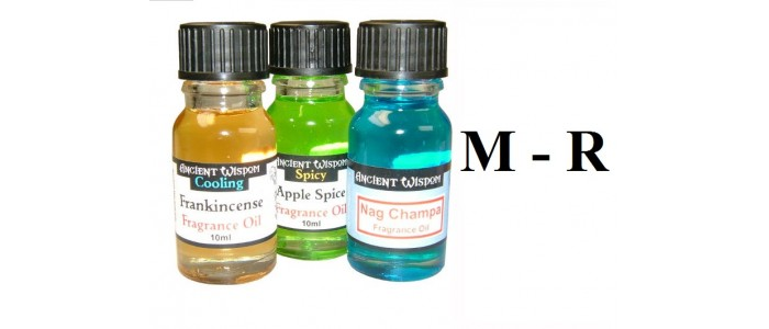 Fragrance Oils M-R