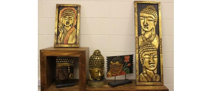 Carved Golden Buddhas