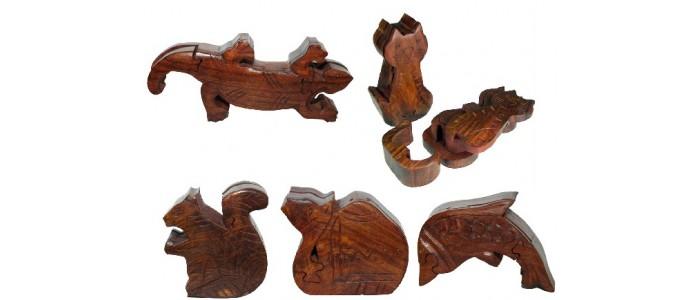 Sheesham Wood Puzzle Boxes