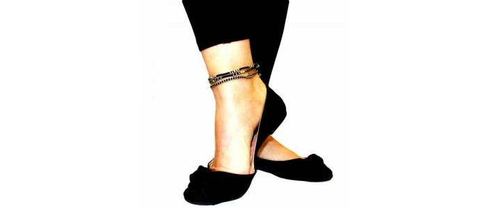 Silver Ankle Chains