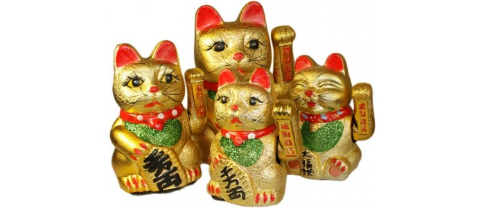 Chinese Lucky Waving Cats