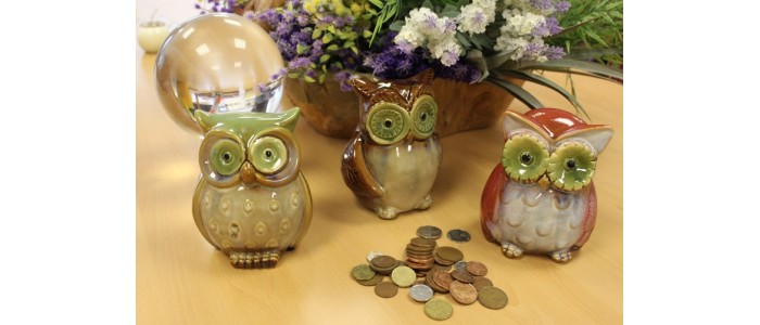 Owl Money Boxes