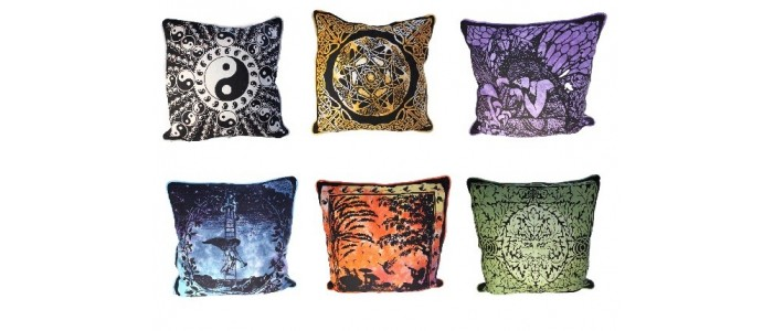 Cotton Print Cushion Covers