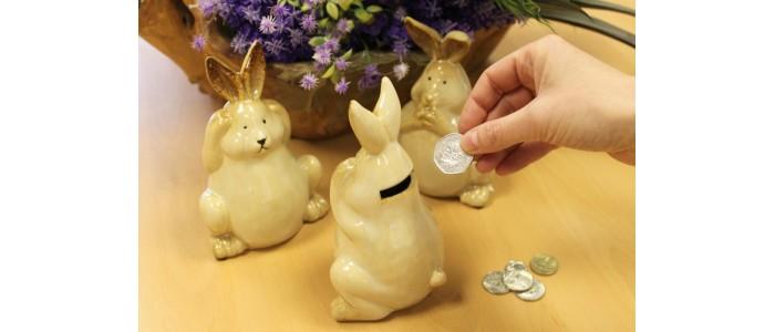 Bunny Money Boxes