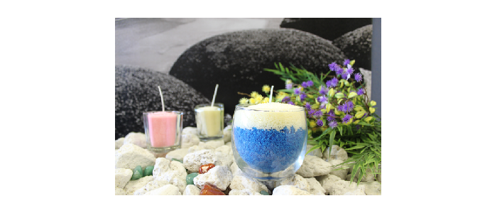 Creative Candle Sand in Display Boxes