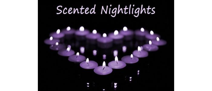 Scented Nightlights - Display Packs of 10