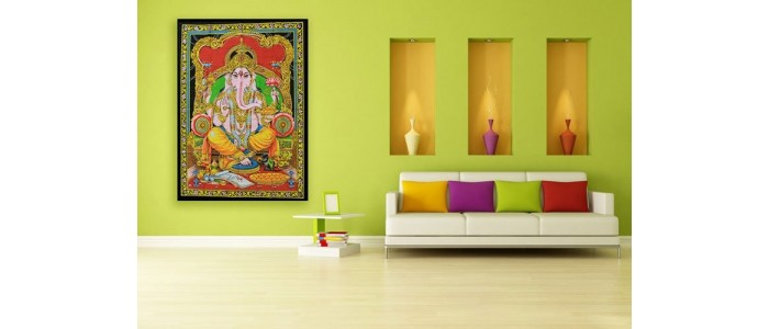 Indian Cotton Wall Art Prints