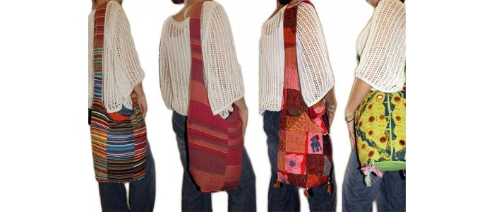 Multi Patch Indian Bags