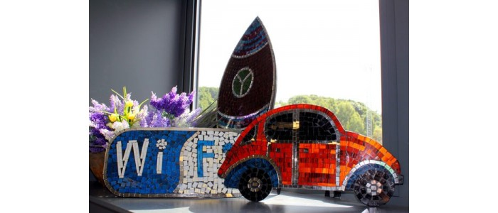 Mosaic Beetle Cars