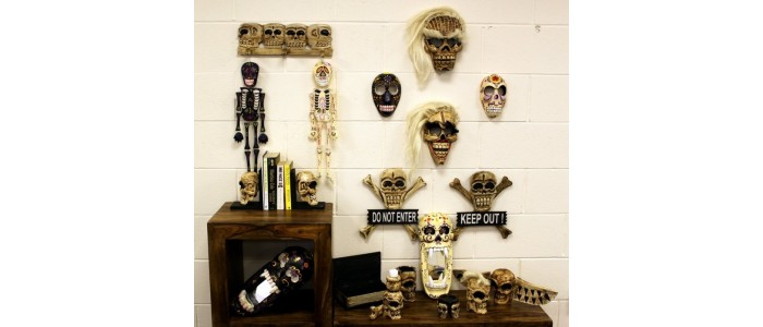 Pretty Skulls & Punk Wood Items