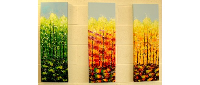 Tall Art Paintings