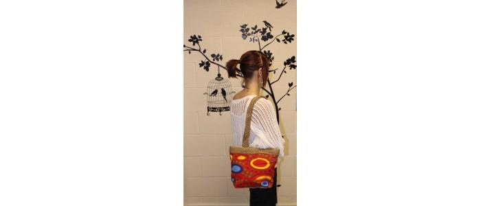 Aboriginal Art Town Bags
